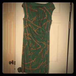 Ralph Lauren wrapped dress